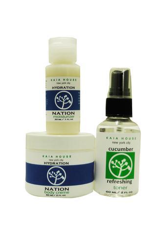 Hydration Nation Face & Body Kit